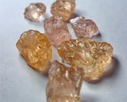 50.90 CT Natural - Unheated Peach Pink Morganite Rough  Lot