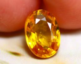 Yellow Sapphire 1.13Ct Natural Siamese Yellow Sapphire D1419