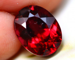 Rhodolite 4.38Ct Natural VVS Cherry Red Rhodolite Garnet D1420