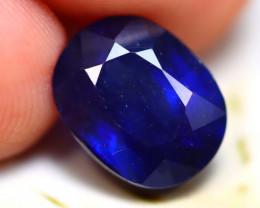 Ceylon Sapphire 4.54Ct Royal Blue Sapphire D1427