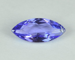 1.01 Cts Stunning Lustrous Natural Tanzanite