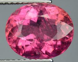 3.30 Cts Natural Raspberry Pink Tourmaline Mozambique Gem