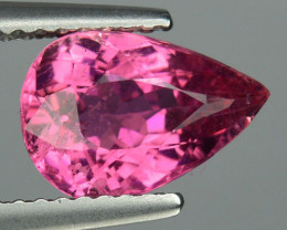 1.81 Cts Natural Tourmaline Raspberry Pink Pear Mozambique