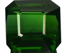 3.60 Cts Natural Neon Green Tourmaline Octagon Cut Nigeria