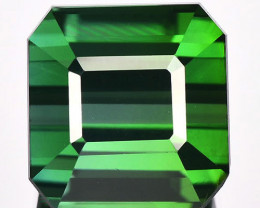 2.88 Cts Natural Neon Green Tourmaline Octagon Cut Nigeria