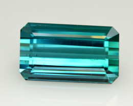 Magnificent Color 18.35 Ct Natural Indicolite Tourmaline
