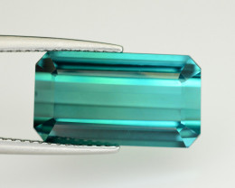 Magnificent Color 7.85 Ct Natural Indicolite Tourmaline
