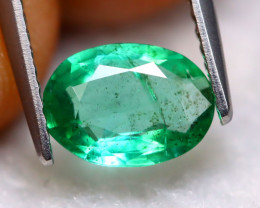Emerald 1.06Ct Natural Best Luster Zambian Green Emerald A1423