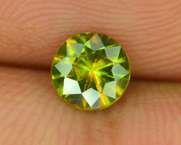AAA Color 0.60 ct Chrome Sphene from Himalayan Range Skardu Pakistan