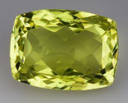 10.63 Ct Natural Lemon Quartz Top Cutting Top Quality Gemstone. LQ 38