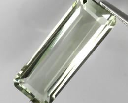 6.95ct Scintillating  Green Amethyst  (Prasiolite) -VVS