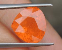"8.19cts ""Neon"" Glowing Orange Garnet, Calibrated size"