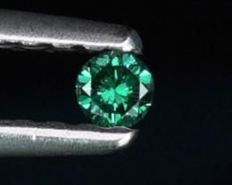 .04CT INTENSE BLUE COLOR NATURAL DIAMOND $1NR!
