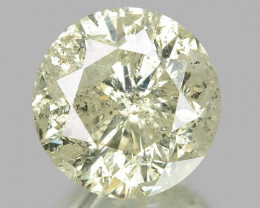 1.11 CTS UNTREATED YELLOWISH WHITE NATURAL LOOSE DIAMOND