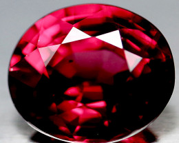 1.95ct Color Shift Garnet - Gorgeous Ruby Crimson to Red Crimson