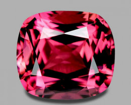 Flawless Namibian natural hot pink tourmaline.