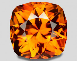 Flawless natural madeira colour citrine.