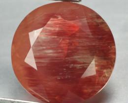 2.41 CTS RED ANDESINE NATURAL RARE GEMSTONE