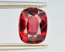 Rare 1.30 ct Natural Untreated Red Spinel~Burma