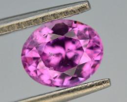 AAA Grade CGL~CERTIFIED  1.39 ct VIVID Pink Corundum Sapphire