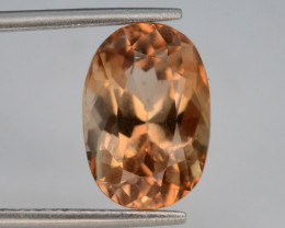 Top Quality 6.55 ct Champagne Color Topaz Skardu Pakistan