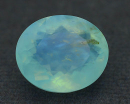 Peruvian Blue Opal 7.19 ct Untreated/Unheated SKU.6