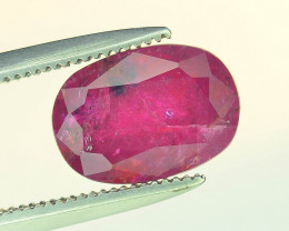 Top Clarity & Color 2.25 ct Rarest Pink Ruby~Tajikistan SB