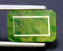 NR Auction 8.80 cts Beautiful Grasolar Idocrase Cabochon