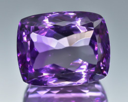 25.0 Crt Natural Amethyst Faceted Gemstone.( AB 13)