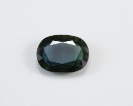 **No Reserve** 3.2ct Natural Blue-Green Sapphire