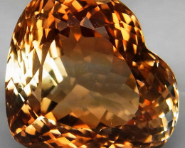 26.26 ct. 100% Natural Earth Mined Top Quality Topaz Orangey Brown Brazil