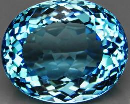 22.52 ct. 100% Natural Top Quality Swiss Blue Topaz Brazil