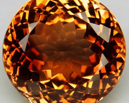 15.26 ct. Top Quality 100% Natural Topaz Orangey Brown Brazil