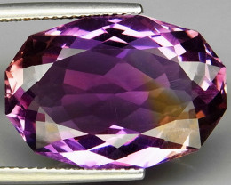 16.01Ct.  100% Natural Earth Mined Top Quality Ametrine Bolivia Unheated