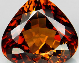 33.51 ct. Top Quality 100% Natural Topaz Orangey Brown Brazil