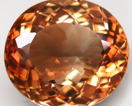 20.74 ct. Top Quality 100% Natural Topaz Orangey Brown Brazil