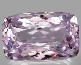 26.22 Ct.Natural Top Silver Pink Kunzite Brazil  Unheated
