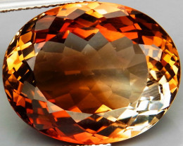 25.22 ct. Top Quality 100% Natural Topaz Orangey Brown Brazil