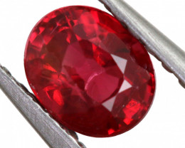 .589 CTS  FIREY RED SPINEL FROM KENYA [S-SAFE328 ]