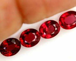 1.892 CTS  FIREY RED SPINEL PARCEL  FROM KENYA [S-SAFE329 ]