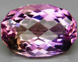 21.76 Ct.    Top Quality 100% Natural Bi Color Ametrine Bolivia  Unheated