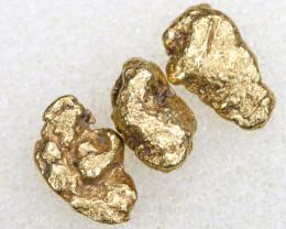 2.28 CTS ALASKAN MONTANA CREEK GOLD NUGGET TBG-3316