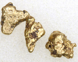 2.35CTS ALASKAN MONTANA CREEK GOLD NUGGET TBG-3321