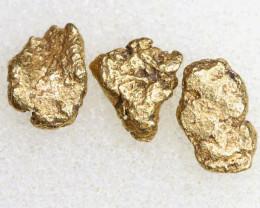 2.25CTS ALASKAN MONTANA CREEK GOLD NUGGET TBG-3324