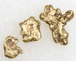 1.86 CTS ALASKAN MONTANA CREEK GOLD NUGGET TBG-3331