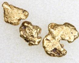 1.82 CTS ALASKAN MONTANA CREEK GOLD NUGGET TBG-3333