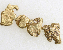 2.66 CTS ALASKAN MONTANA CREEK GOLD NUGGET TBG-3338