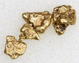 3 CTS ALASKAN MONTANA CREEK GOLD NUGGET TBG-3340