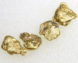 2.56 CTS ALASKAN MONTANA CREEK GOLD NUGGET TBG-3353