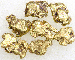 3.75 CTS ALASKAN MONTANA CREEK GOLD NUGGET TBG-3354